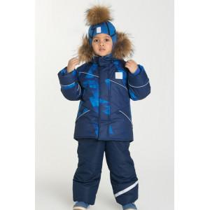 """Зимний костюм Stella kids """"Молния"""" синий"""