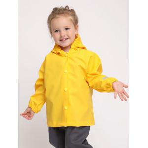 Куртка детская непромокаемая ЖЁЛТАЯ ТИМ 2020