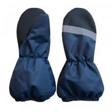 Мембранные рукавицы на флисе UKI Kids тёмно-синие