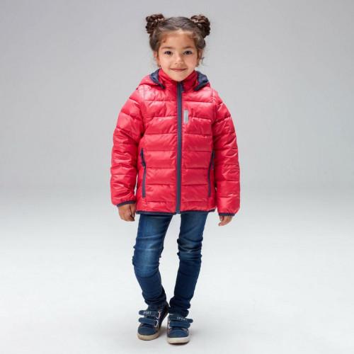 Куртка-жилетка девочки UKI kids малиновая