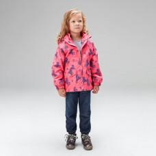 Ветровка для девочки 3 в 1 UKI kids КСЮША коралловый