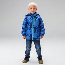 Ветровка для мальчика 3 в 1 UKI kids ТИМУР синий